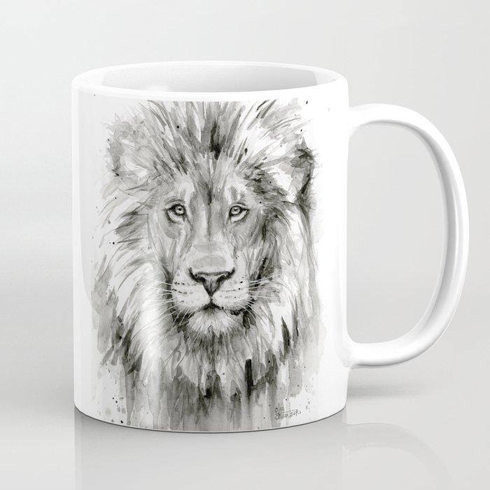 Lion Watercolor Coffee Mug By Olechka Society6