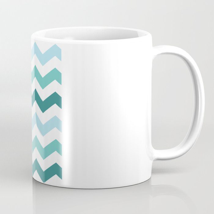 Chevron forest Coffee Mug
