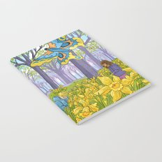 Kites and Daffodils Notebook