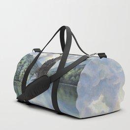Eagle with Fish Duffle Bag