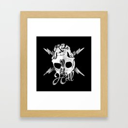 bwh Framed Art Print