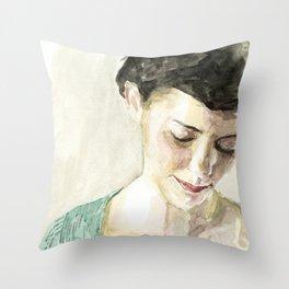 Amelie Poulain  Throw Pillow