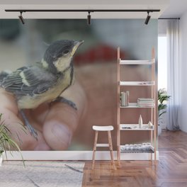A Bird In The Hand Wall Mural