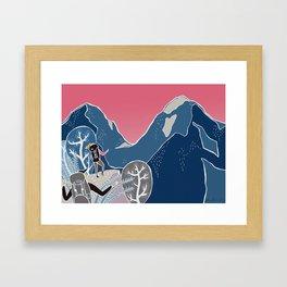 Slovenian mountains Framed Art Print