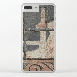 Doormat Clear iPhone Case