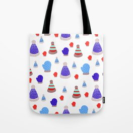 Mittens and Hats Tote Bag