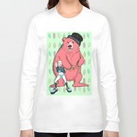 miley cyrus Long Sleeve T-shirts featuring Miley Cyrus by Lizz Buma