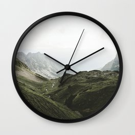 Beam Landscape Photography Wall Clock