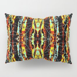 Colorful Indian Pattern Pillow Sham