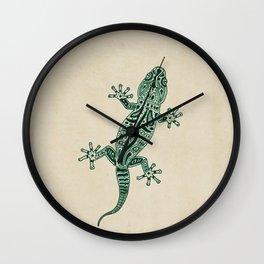 Ornate Lizard Wall Clock
