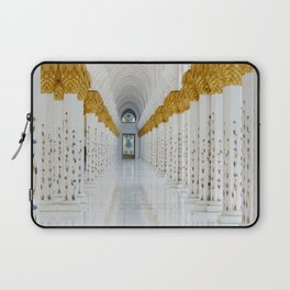 Down the golden white Laptop Sleeve