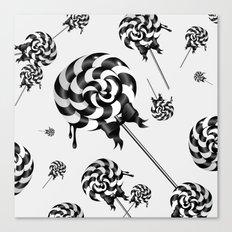 Goth Lollies Canvas Print