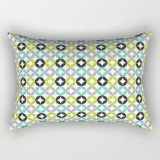 Lime Aqua Moroccan Rectangular Pillow
