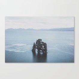 Hvitserkur, Iceland III Canvas Print