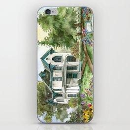 Garden House iPhone Skin