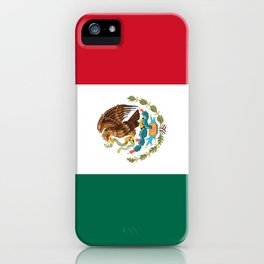 Flag of mexico- mexico,mexico city,mexicano,mexicana,latine,peso,spain,Guadalajara,Monterrey iPhone Case