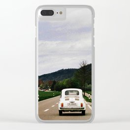 To travel is to live Clear iPhone Case