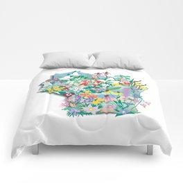 Wisconsin Wildflowers Comforters