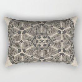 Bank Note Design Rectangular Pillow