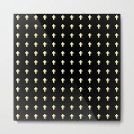 Christian Cross 43 Metal Print