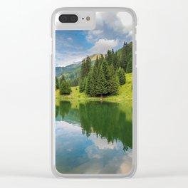 Alpine summer, Austria Clear iPhone Case