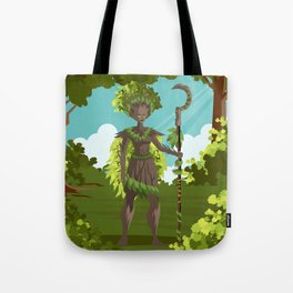 dryad nature tree forest guardian Tote Bag