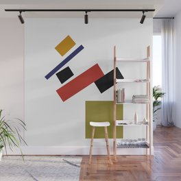 Geometric Abstract Malevic #4 Wall Mural