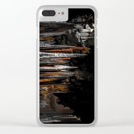 The skin of sin Clear iPhone Case