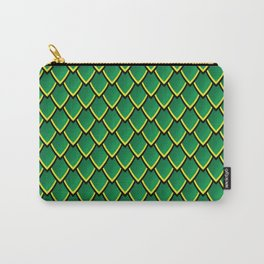 Dragon Scales (Green) Carry-All Pouch