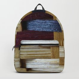 Up Close Bold Woven Backpack