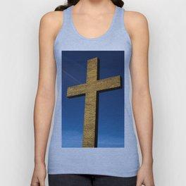 Heaven's Cross Unisex Tank Top