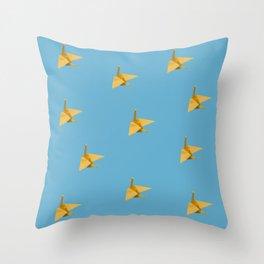 Crane Throw Pillow