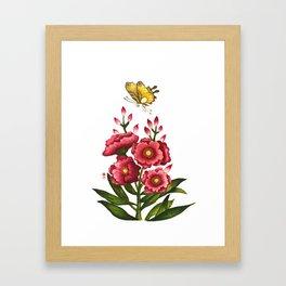 Celosia cristata_Solnekim Framed Art Print