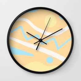 Sunshine Skies Wall Clock
