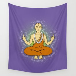 Spiritual peace, unfuck the world ;) Wall Tapestry