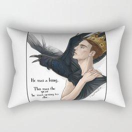 raven king Rectangular Pillow
