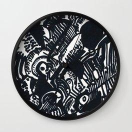 Sharpie Wall Clock