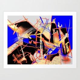 Coronatimes Art Print