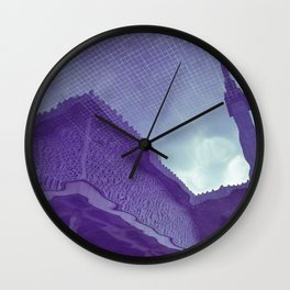 Mosque reflection Wall Clock