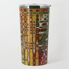Abstract Art Work Geometic Travel Mug