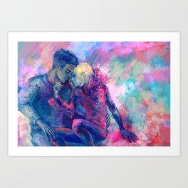 Swanheart Art Print