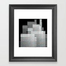 metropolitan area Framed Art Print