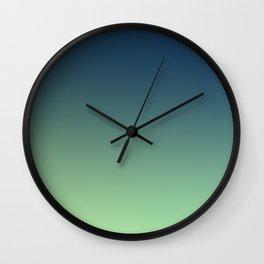 POOL BOYS - Minimal Plain Soft Mood Color Blend Prints Wall Clock