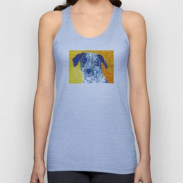 Party Dog Unisex Tank Top