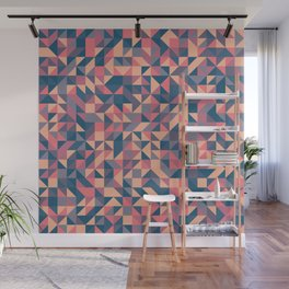 Triangles III Wall Mural