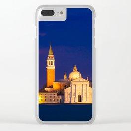 VENICE 04 Clear iPhone Case