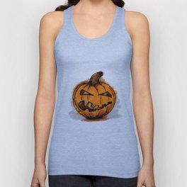 Pumpkin Unisex Tank Top