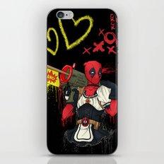 Dead Pool-chan iPhone & iPod Skin