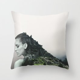 Who We Always Were In The End Throw Pillow