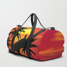 Tropical Sunset Duffle Bag